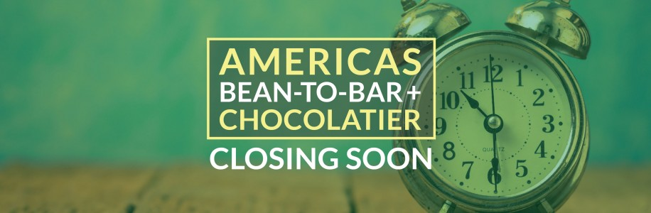 AMERICAS Bean-to-Bar and Chocolatier Competition 2020 – closing soon