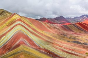 Peru Rainbow mountains